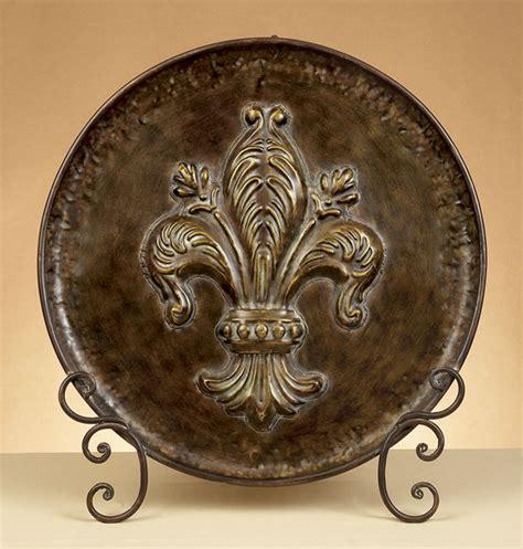 tuscan decorative wall plates fleur de lis decorative plates decor ideasdecor ideas