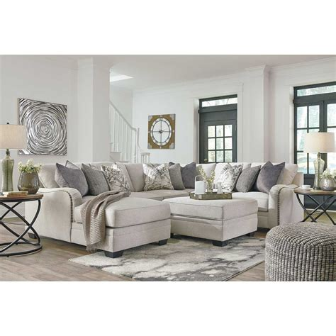 raf chaise sectional dellara 4pc sectional with raf chaise 3210117 34 55 77