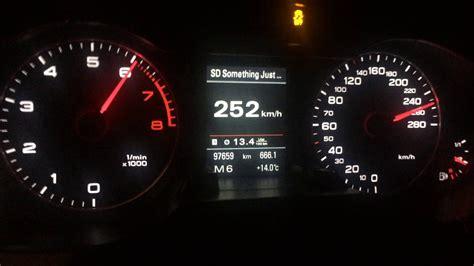 Audi Tfsi Quattro Tronic Top Speed Run Son
