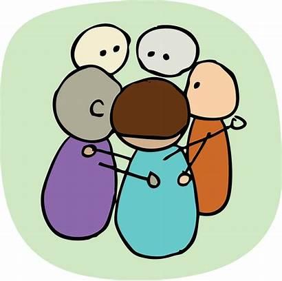 Huddle Clipart Problem Huddles Meeting Team Discussion