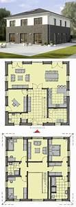 Modulares Bauen Preise : fertighaus stadtvilla neubau modern mit klinker putz ~ Watch28wear.com Haus und Dekorationen