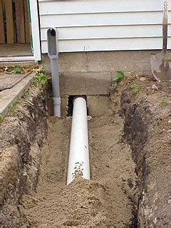 Installing Underground Conduit Between House And Detached
