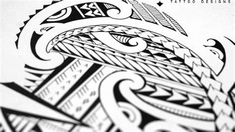 drawing  halfsleeve tattoo  maori  samoan patterns