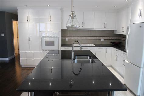 lustre de cuisine armoires de cuisine en polymère blanc lustré cuisines despro
