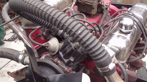 Buick 215 Crate Engine by 62 1962 Buick 215 Aluminum V8 Running