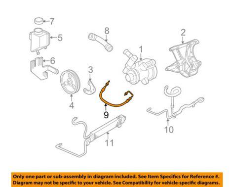 05 Corvette Part Diagram by Chevrolet Gm Oem 05 07 Corvette Power Steering Pressure