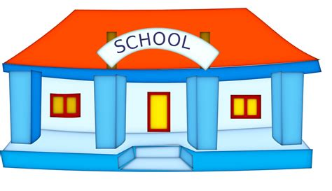 School House Clipart