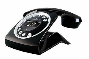 Telephone Sans Fil Vintage : t l phone sans fil sagemcom sixty noir sixty darty ~ Teatrodelosmanantiales.com Idées de Décoration