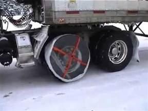 Tire Sock Chains for Semi Trucks
