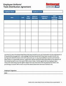 Computer Use Policy Template Uniform Agreement Template 10 Best Images Of Employee Pay