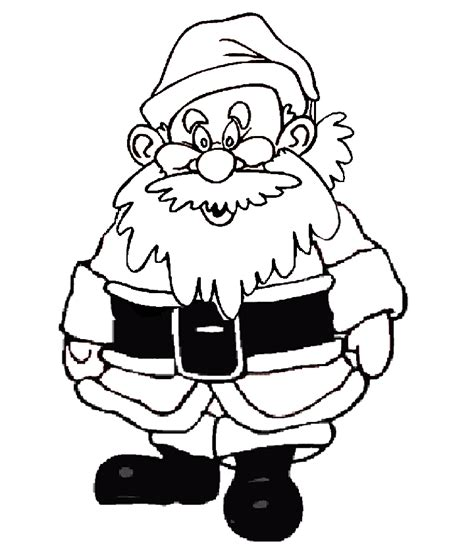 santa claus pictures to color santa clous laughing coloring pages
