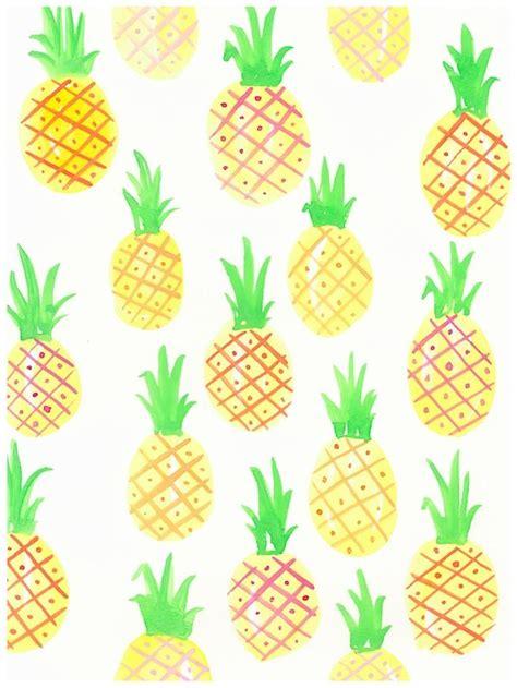 yellow pineapple print  coastal