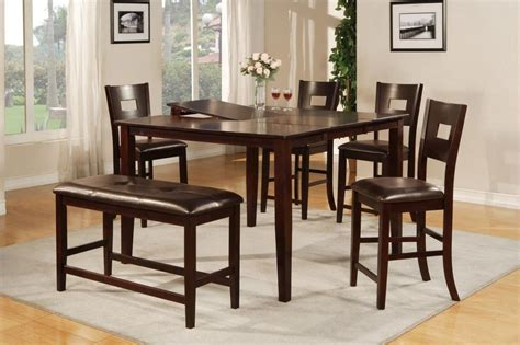 glass top wooden dining room table  dining room ideas