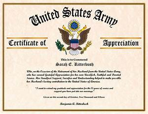 sample air force certificate of appreciation images With air force certificate of appreciation template