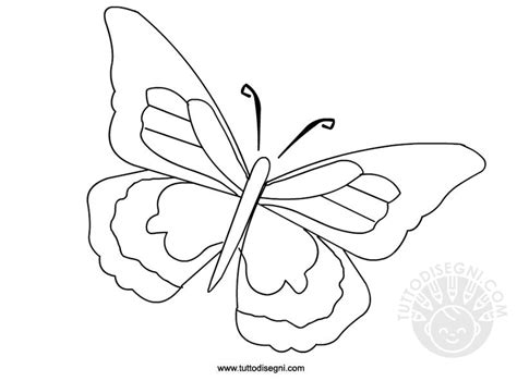 immagini colorate da stare farfalla disegno da colorare tuttodisegni