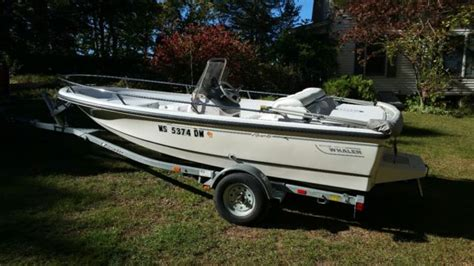 1995 Boston Whaler Jet Boat by 1995 Used Jet Boat By Boston Whaler Boston Whaler 1995