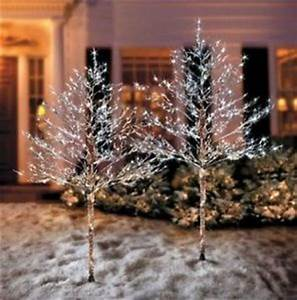 5 Foot Pre Lit LED Christmas Tree Outdoor Artificial