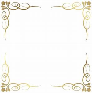 Transparent Decorative Frame Border PNG Image | fbsdbsdb ...