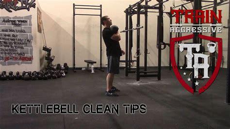 kettlebell clean tips