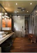 Open Shower Bath Designs by Industrial Bathroom Design Modern Bathroom Mell Lawrence Architects