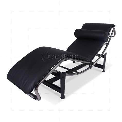 le corbusier chaise longue le corbusier style lc4 chaise longue black leather replica