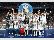 12 awesome photos of Real Madrid celebrating Champions