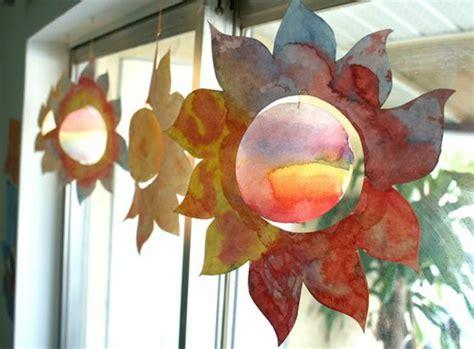 Basteln Sommer Fenster by 1001 Ideen F 252 R Fensterdeko Sommer Zum Selber Machen