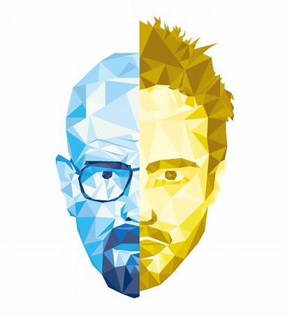Behance Breaking Bad Jesse Faces Crystal Minerals