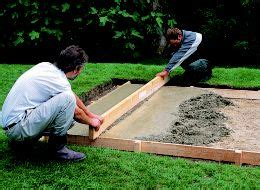 laying slabs for shed how to build a shed base ideas advice diy at b q
