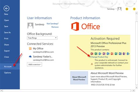 activate microsoft office 2013 ms office 2013 product key free