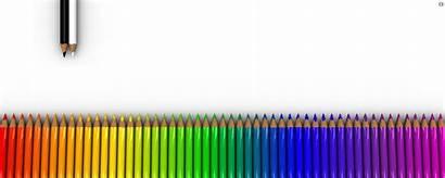 Dual Pencil Rainbow Wallpapers Screen Pencils Monitor