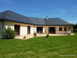 Maison Plain Pied En L : maison plain pied a vendre ~ Melissatoandfro.com Idées de Décoration
