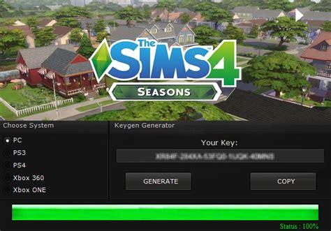 The Sims 4 Key Generator Keygen For Full Game Crack