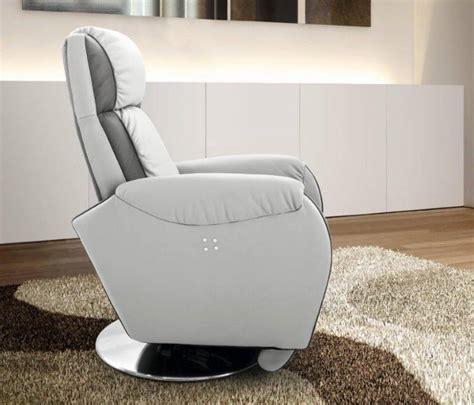 fauteuil design relax en cuir afl literie