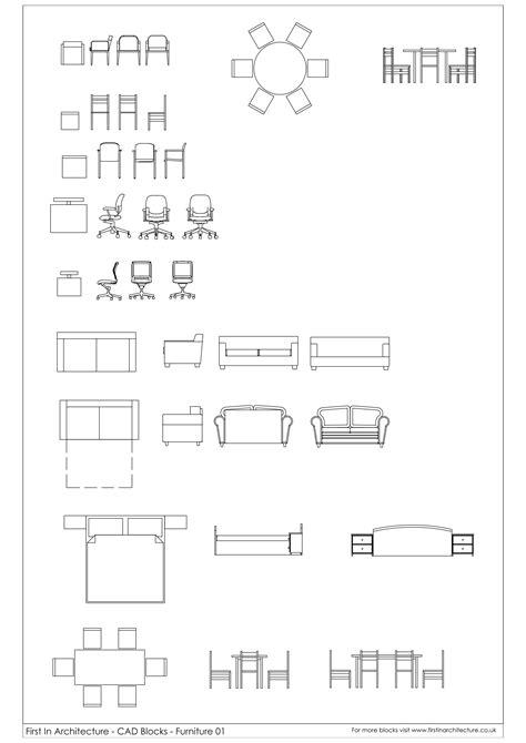 CAD Blocks Furniture | First In Architecture
