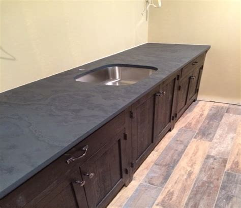slate slab countertop ideas cozy slate countertops for your home scoopsights
