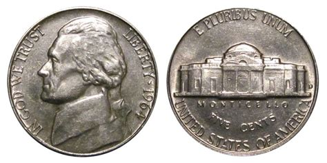 1964 nickel value 1964 d jefferson nickels pre war composition value and prices