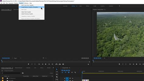 Motion Graphics Template In Adobe Premiere Pro Use Motion Graphics Templates On Zenbook Pro To Spice Up