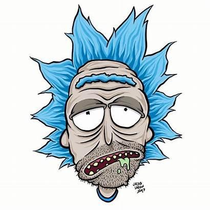 Morty Rick Drawing Ricky Cartoon Drawings Cartoons