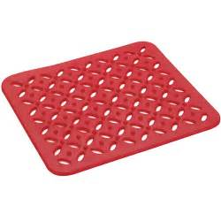 kitchen sink mat red in sink mats