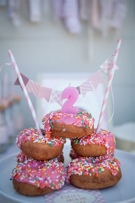 Blairs Donut Nd Birthday Party Project Nursery