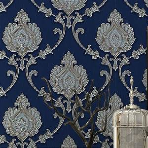 Fashion embossed wallpaper 3d wallpaper tv background wall ...