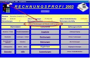 Kumulative Rechnung : rechnungsprofi erinnerungsfunktion und liste offene rechnungen mit skonto angebote ~ Themetempest.com Abrechnung