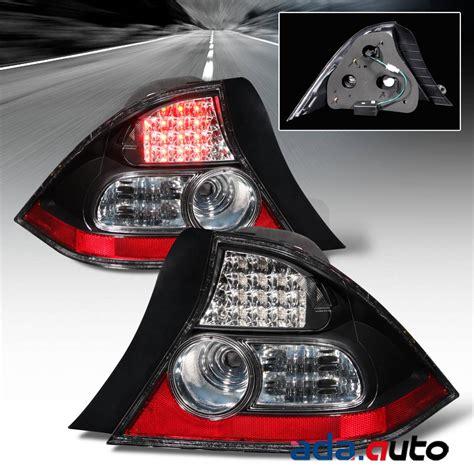 honda civic tail lights for sale 2004 2005 honda civic 2dr coupe led black tail lights