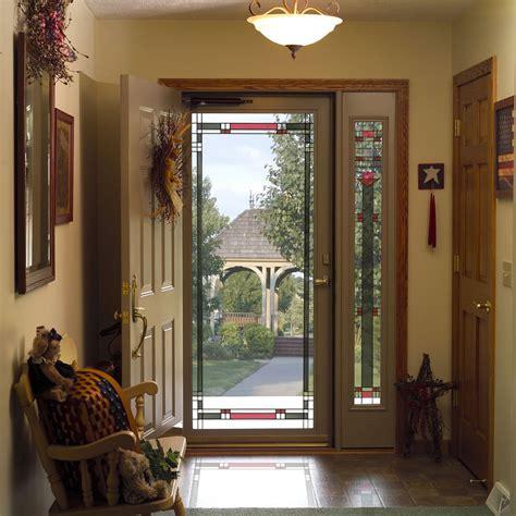 storm screen door larson provia doors cleveland