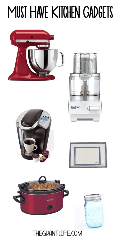 Must Have Kitchen Gadgets  Mom Makes Dinner