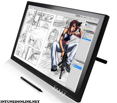 drawing   tablet monitor  rid  shaky lines