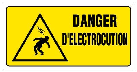 blocs tiroirs bureau danger d 39 electrocution panneaux de signalisation et
