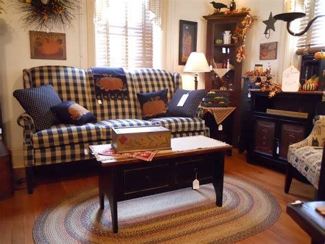 Kreamer Brothers Furniture Leg Cushion Country Sofa