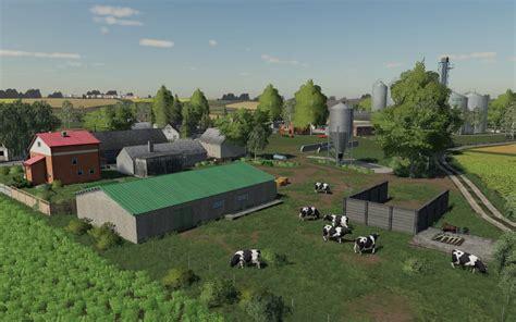 wielkopolska map   fs mods farming simulator  mods